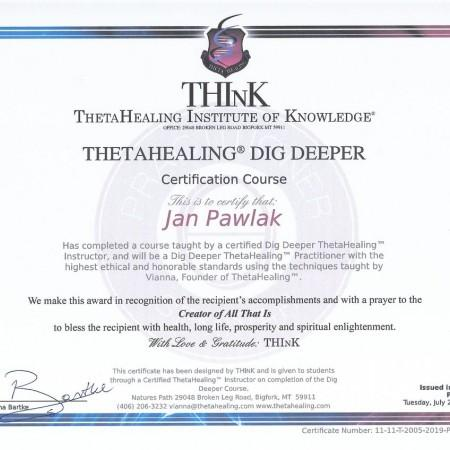 Certyfikat Think